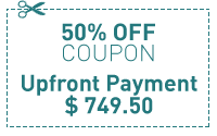 50% Discount | 1 Upfront Payment