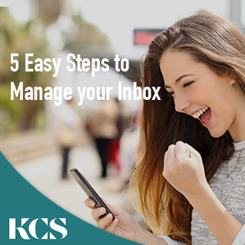 5 Easy Steps to Manage your Inbox